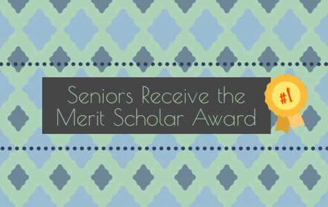 Seniors Receive the Merit Scholar Award