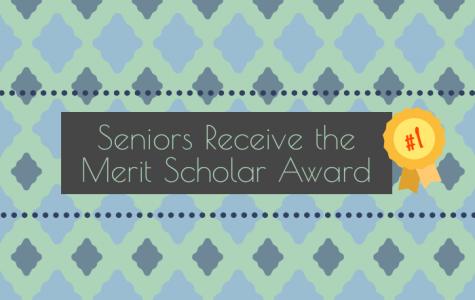 Seniors Receive the Merit Scholar Award