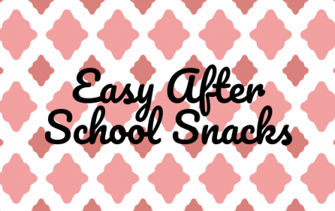 Three Easy Snacks For After School