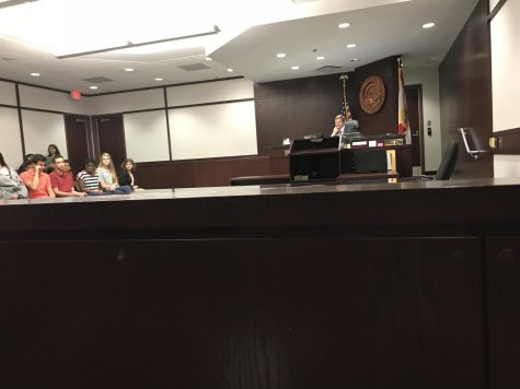 Court responsibilities of teen defendants