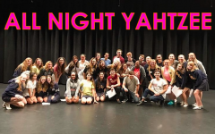 The AHN Quarter Notes Perform Along Side FSU's All Night Yahtzee Group