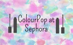Sephora Adds ColourPop to Their Shelves