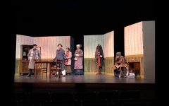 "One Act ""Trifles"" Competes at District One Act Festival"