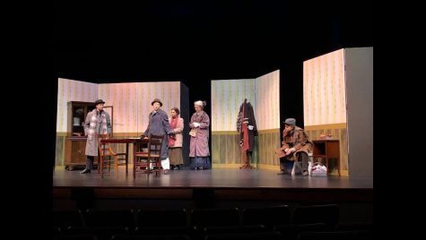 """One Act """"Trifles"""" Competes at District One Act Festival"""