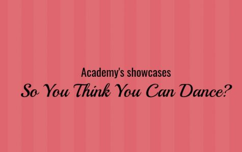 """Academy Hosts First Ever """"So You Think You Can Dance?"""" Competition"""