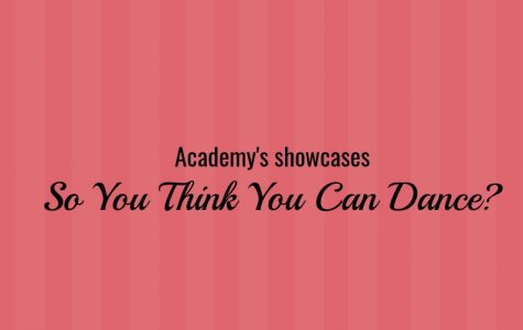 "Academy Hosts First Ever ""So You Think You Can Dance?"" Competition"