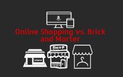 Online Shopping vs. Storefront Shopping