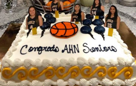 Basketball Wraps Up Season with Senior Night