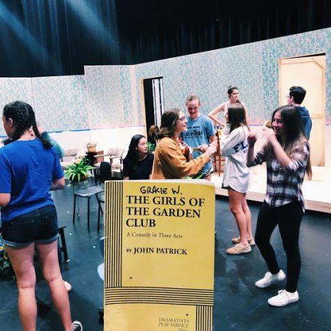 "Spring Comedy, ""Girls of the Garden Club,"" Begins Preparation"