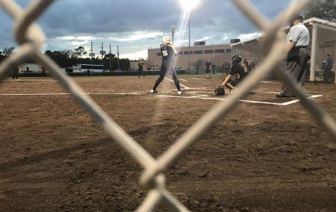 Softball Wins Preseason Game Defending State Champions