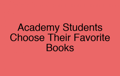 Academy Students Choose Their Favorite Books