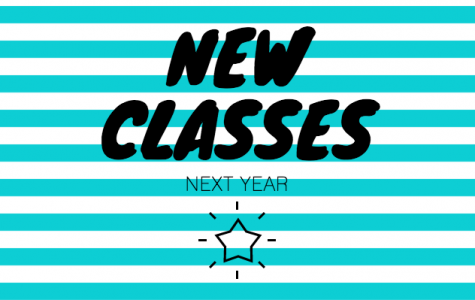 New Classes Coming in August 2018