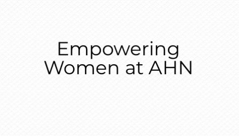 Empowering Women at AHN