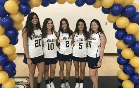 Lacrosse Team Celebrates Senior Players