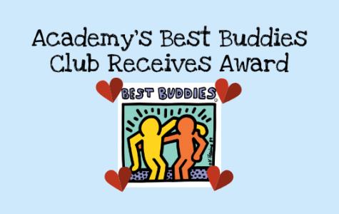 Academy's Best Buddies Club Receives Award