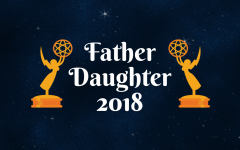 Student Council Rolls Out the Red Carpet for Father Daughter