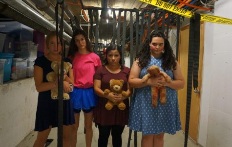 Student Council Hosts a Canned Food Drive For the Elementary and Middle Schools With Haunted Basement