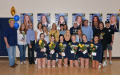 Academy Volleyball Team Honors Senior Players