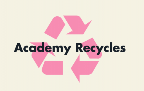 Academy Puts Recycling Bins in Classrooms