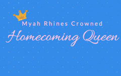 Myah Rhines Crowned Homecoming Queen