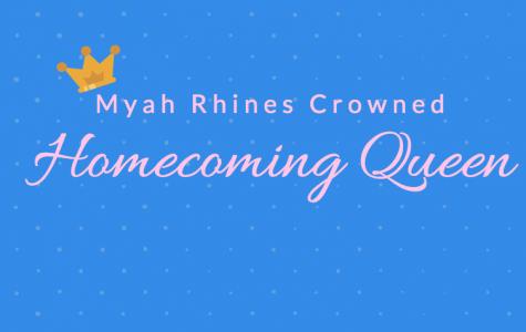 Myah Rhines Crowned Homecoming Queen