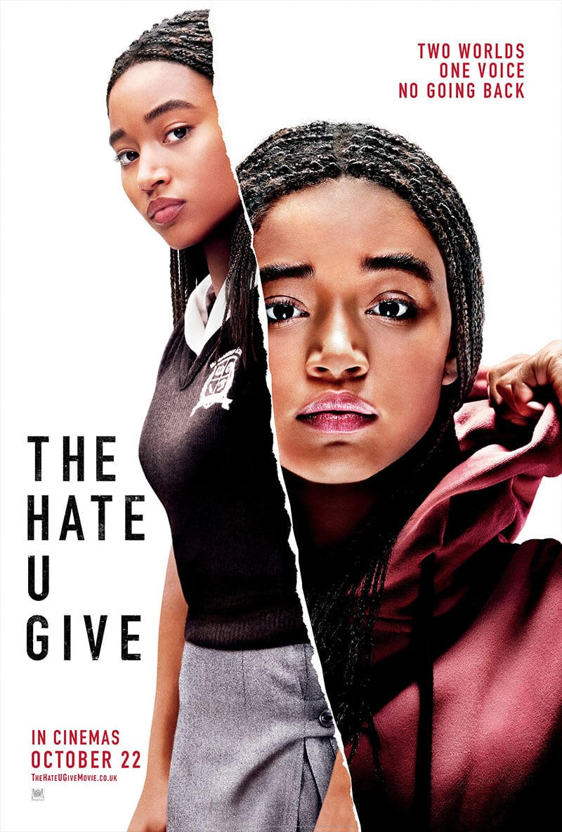 The Hate U Give was based on an acronym rapper Tupac Shakur is noted as creating