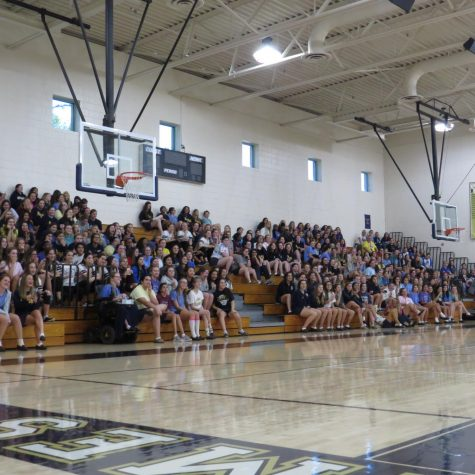 Golden Girls Put on First Pep Rally of the Year