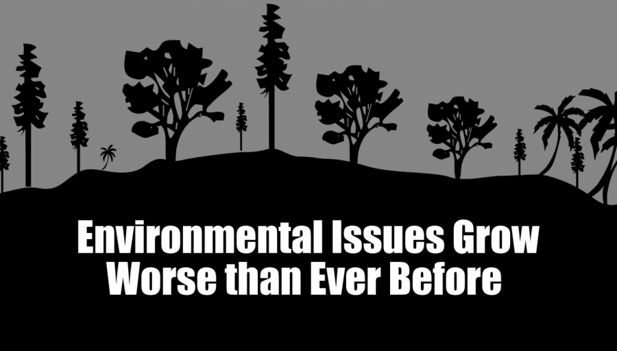 Environmental Issues Grow Worse than Ever Before