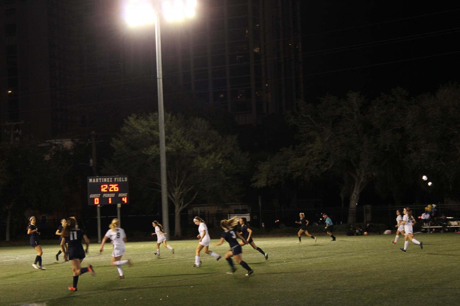The Academy of the Holy Names soccer team is currently ranked 72 for high school girls' soccer teams in Florida.