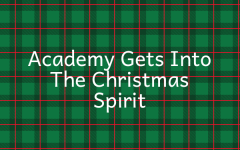 Academy Gets Into The Christmas Spirit