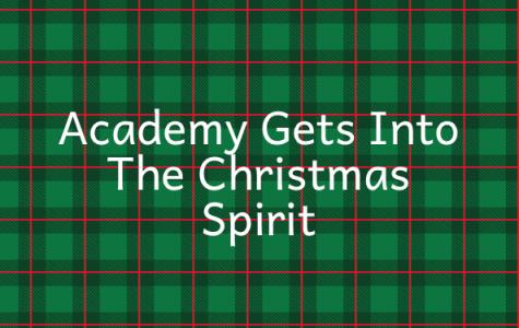 Academy Gets Into The Christmas Spirit