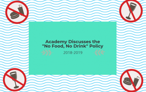 """Academy Discusses the """"No Food, No Drink"""" Policy"""