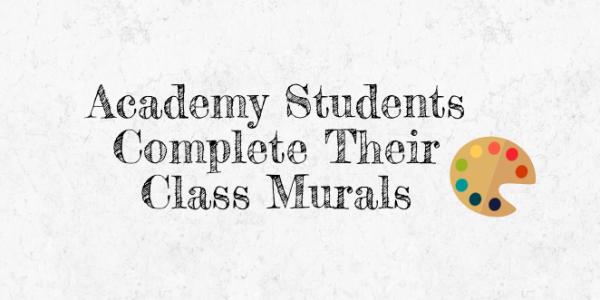 AHN Students Complete Class Murals