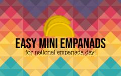 Easy Mini Empanadas
