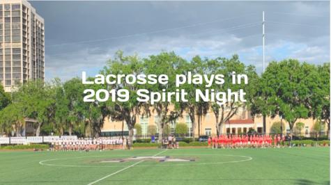 Lacrosse Defeats Cardinal Mooney on Spirit Night