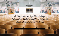 A Decrease in Top-Tier College Admission Rates Results in Shared Student and Parent Stress
