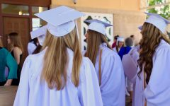 Seniors Attend Baccalaureate Mass