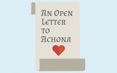 An Open Letter to Achona